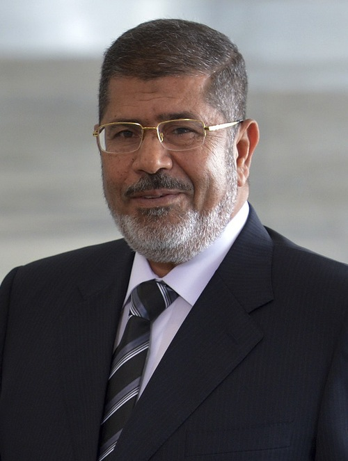 Mohamed Morsi, president of Egypt, was ousted by the military on Wednesday. Credit: Wikimedia Commons.
