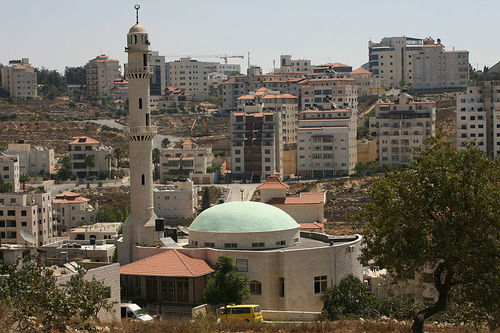 Click photo to download. Caption: Ramallah protesters have called for the launch of a third Intifada against Israel. Credit: Wikimedia Commons.