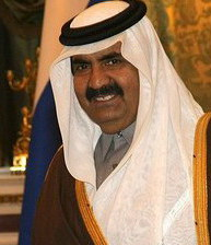 Qatar reportedly pledged more than $400 million to the Palestinian terrorist organization in October 2012 during a visit to Gaza by Qatar's ruling emir at the time, Sheikh Hamad bin Khalifa al-Thani (pictured). Credit: Wikimedia Commons.