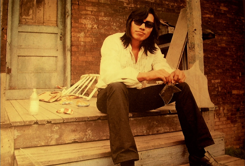 "Click photo to download. Caption: American folk musician Sixto Díaz Rodríguez in Simon Chinn's Oscar-winning documentary, ""Searching for Sugar Man."" Credit: Hal Wilson."