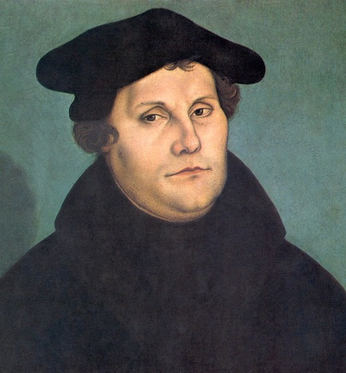 Click photo to download. Caption: Painting of Christian Reformation leader Martin Luther, who is known for strong anti-Semitic views that were later appropriated by Adolph Hitler during the Nazi era, Anglican clergyman Simon Ponsonby said. Credit: Wikimedia Commons.