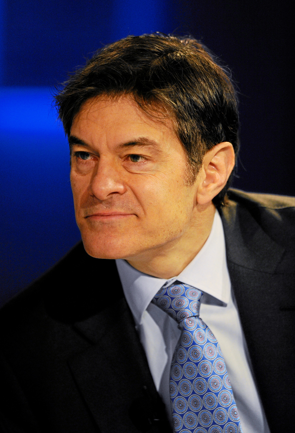 Dr. Oz, who will visit Israel this month. Credit: World Economic Forum.