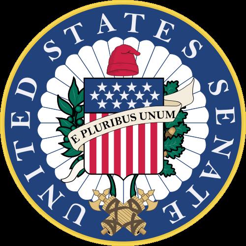 The U.S. Senate seal. Credit: U.S. Senate.