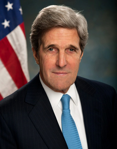 Click photo to download. Caption: U.S. Secretary of State John Kerry. Credit: U.S. Department of State via Wikimedia Commons.