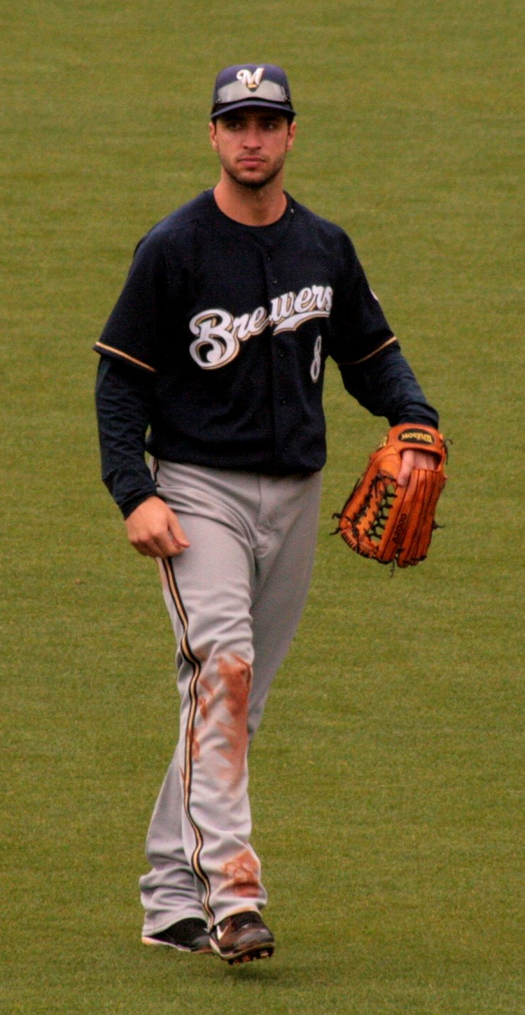 Ryan Braun. Credit: UCinternational via Wikimedia Commons.