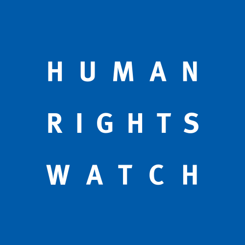 The Human Rights Watch logo. Credit: Human Rights Watch.