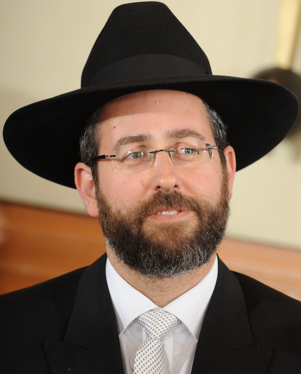 Rabbi David Lau, pictured, was elected as the Ashkenazi chief rabbi of Israel. Credit: Wikimedia Commons.