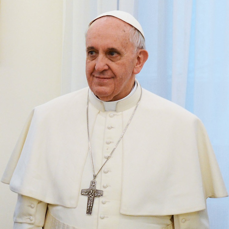 Click photo to download. Caption:  Pope Francis. Credit: Casa Rosada/Wikimedia Commons.