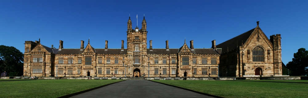 The University of Sydney, where associate professor Jake Lynch's BDS actions have prompted a lawsuit by the Israeli civil rights group Shurat HaDin. Credit: Toby Hudson via Wikimedia Commons.