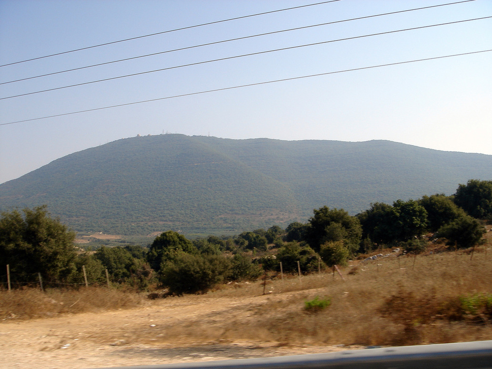 "According to a recent Palestinian Authority TV quiz, Israel's Mount Meron (pictured) is part of ""Palestine."" Credit: Lior Golgher via Wikimedia Commons."