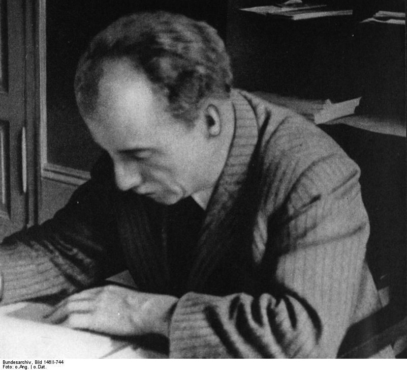 Click photo to download. Caption: Professor Kurt Huber of the Holocaust resistance group White Rose. Credit: German Federal Archives.