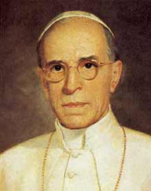 Pope Pius XII. Credit: Wikimedia Commons.