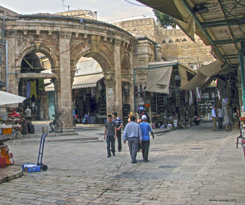 The Christian Quarter of Jerusalem. Credit: Adriana Lobba via Wikimedia Commons.