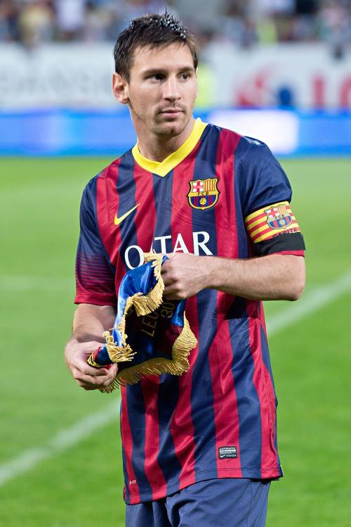 "A line identifying Israel as a Jewish state led the Peres Center for Peace to reject ""Snow Ball,"" a play based on an original Israeli script that tells the story of Felipe, a 10-year-old new immigrant to Israel from Argentina who is a huge fan of FC Barcelona star Lionel Messi (pictured). Credit: Wikimedia Commons."