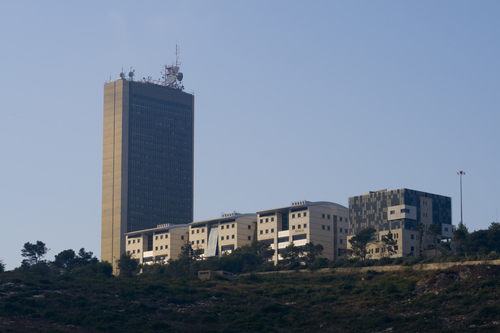 Click photo to download. Caption: The University of Haifa. Credit: Michael<br /> Privorotsky via Wikimedia Commons.