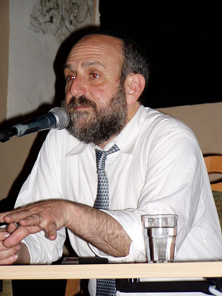 Click photo to download. Caption: The office of Poland's Chief Rabbi, Michael Schudrich (pictured), has received an unprecedented number of anti-Semitic letters, emails, and phone calls due to the ritual slaughter controversy. Credit: Slav via Wikimedia Commons.