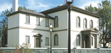 Historic Touro Synagogue in Newport, RI. Credit: National Park Service.