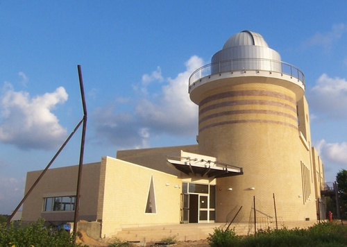 Click photo to download. Caption: The Technoda science museum in the Givat<br /> Olga community of Hadera, Israel. The Technoda's educational program<br /> cultivates Israeli scientists at early ages. Credit: Sivan Toledo via<br /> Wikimedia Commons.
