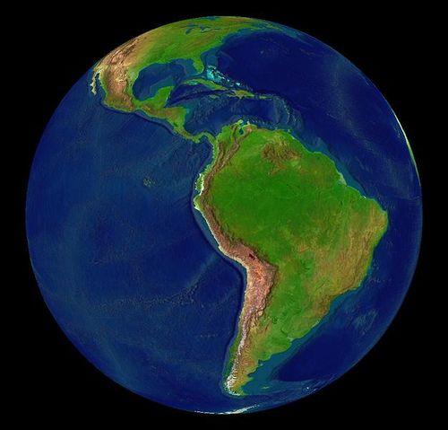 Latin America. Credit: Wikimedia Commons.