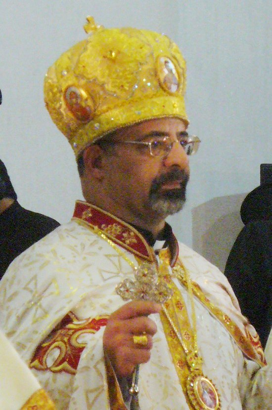 Egyptian church leader Bishop Ibrahim Isaac Sidrak, the head of the Catholic Church in Egypt and Patriarch of Alexandria. While Coptic Orthodox Christians comprise the majority the roughly 8.5 million followers of Christianity in Egypt, the Coptic Catholic Church has about 160,000 followers. Credit: Wikimedia Commons.