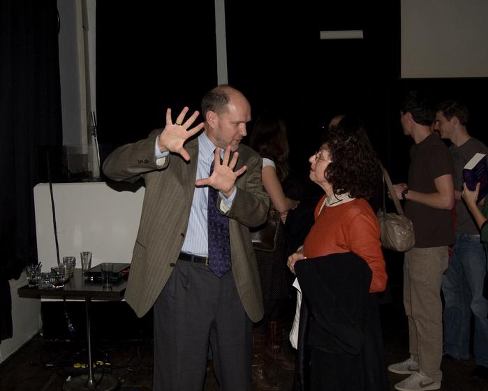 Anti-Israel author Stephen Walt, pictured, was the first interview subject on Al-Jazeera America. Credit: Maarten via Wikimedia Commons.