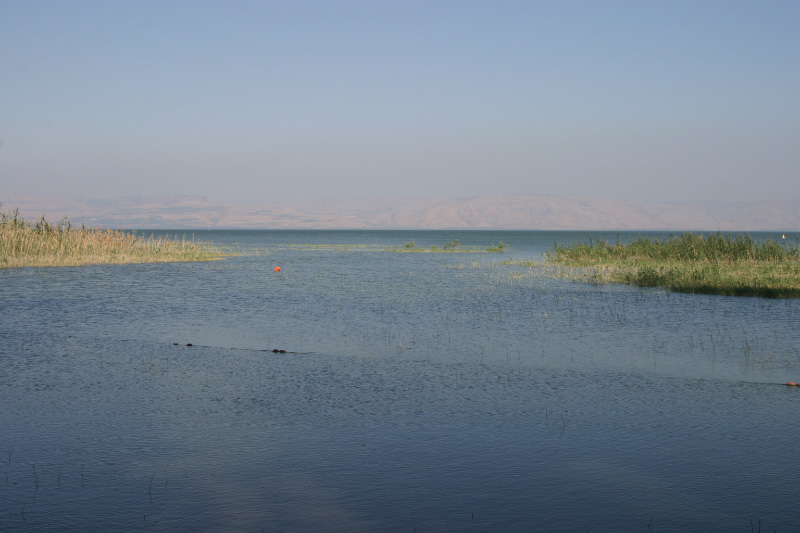 The Sea of Galilee is Israel's biggest fresh water source. Credit: Wikimedia Commons.