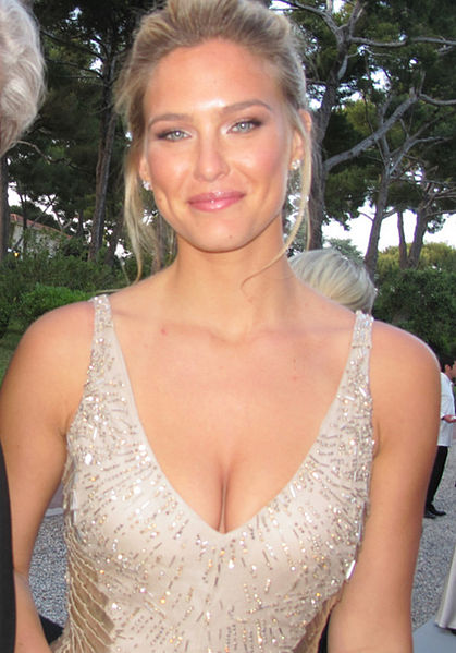 Israeli model Bar Refaeli. Credit: Wikimedia Commons.