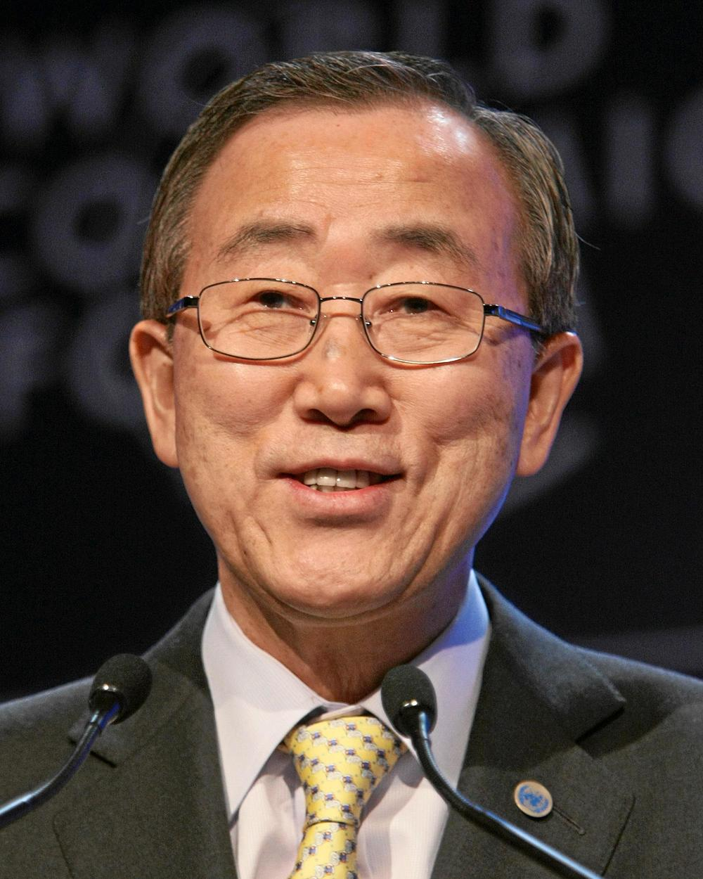 U.N. Secretary-General Ban Ki-moon. Credit: World Economic Forum.