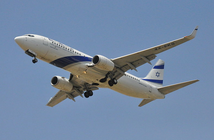 An El Al plane. Credit: AF1621 via Wikimedia Commons.