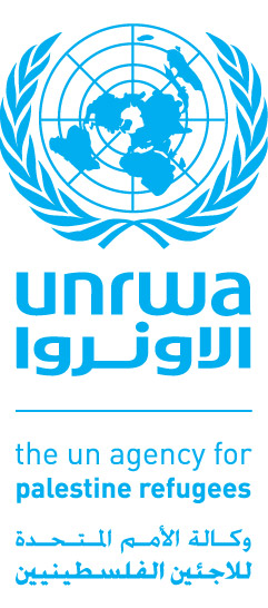 The UNRWA logo. Credit: UNRWA.
