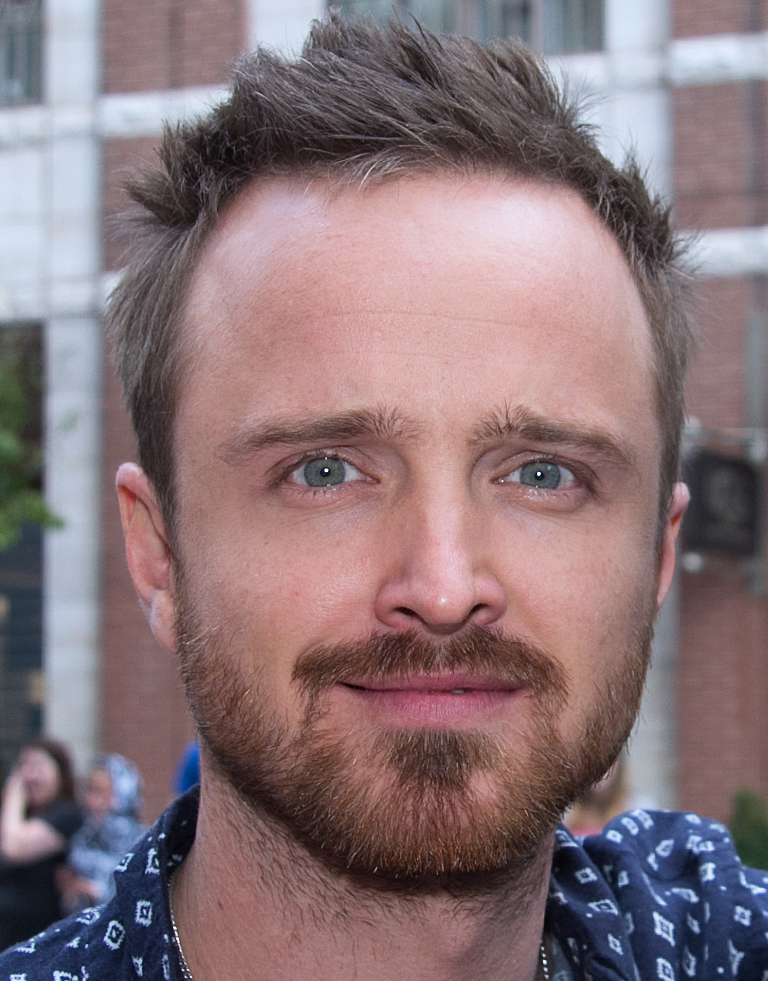 """Breaking Bad"" star Aaron Paul. Credit: WIkimedia Commons."