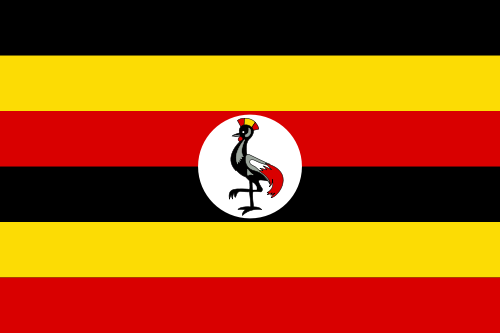 The flag of Uganda. Credit:
