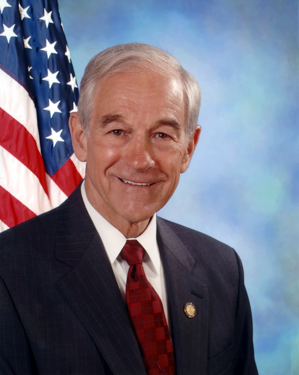 Former Texas congressman Ron Paul. Credit: United States Congress.
