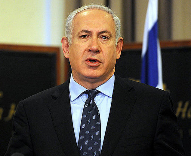 "The response on Syria will be ""clearly heard in Iran,"" Prime Minister Benjamin Netanyahu said Wednesday. Credit: Cherie Cullen."