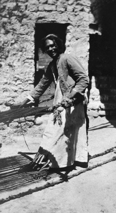 Click photo to download. Caption: A Jewish weaver pictured in 1918 in the small town of Ramadi in the middle Euphrates region of Iraq. Credit: Wikimedia Commons. In 1941, the Jews of Baghdad, Iraq, were convulsed by a June pogrom known as the farhud. Credit: Wikimedia Commons.