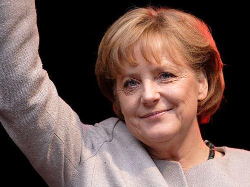 German Chancellor Angela Merkel. Credit Wikimedia Commons.