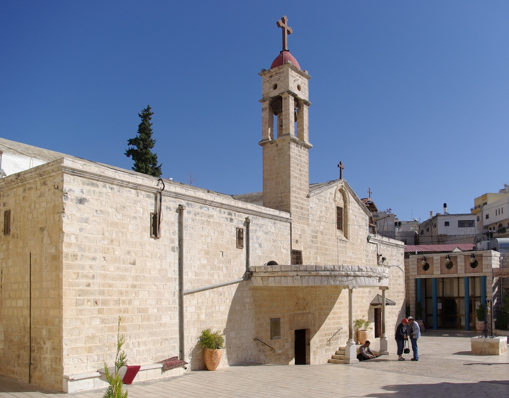 St. Gabriel's Greek Orthodox Church in Nazareth, Israel. Credit: Berthold Werner.