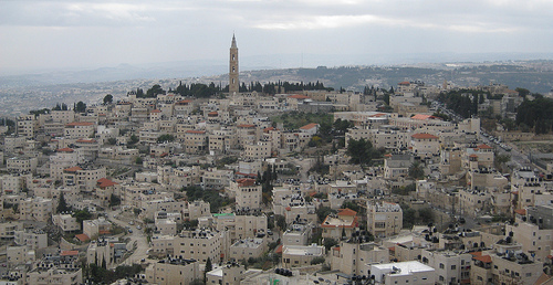 Jerusalem's A-Tur neighborhood. Credit: Wikimedia Commons.