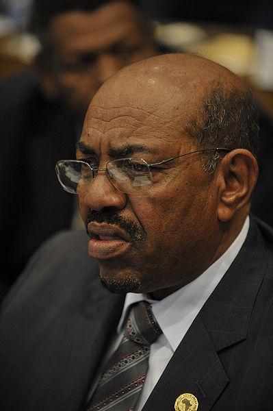 Sudanese president Omar Hassan al-Bashir. Credit: U.S. Navy photo by Mass Communication Specialist 2nd Class Jesse B. Awalt via Wikimedia Commons.
