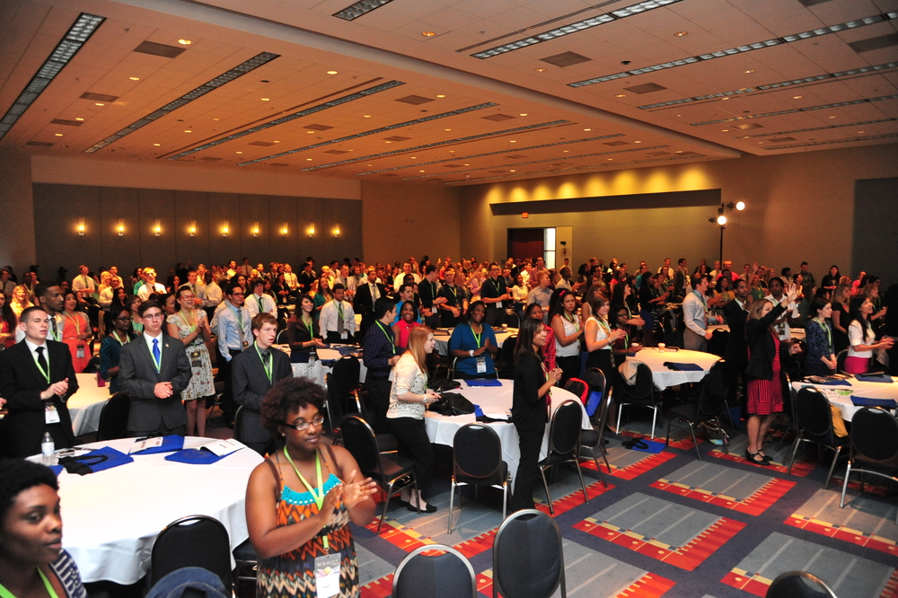 "Click photo to download. Caption: The crowd at the 2013 Christians United for Israel (CUFI) Washington Summit. In response to the rising tide of global anti-Christian violence, Christians United for Israel (CUFI) is supporting H.R.301, legislation that would direct the U.S. president to appoint a ""Special Envoy to Promote Religious Freedom of Religious Minorities in the Near East and South Central Asia"" within the State Department. Credit: CUFI/Paul Wharton Photography."
