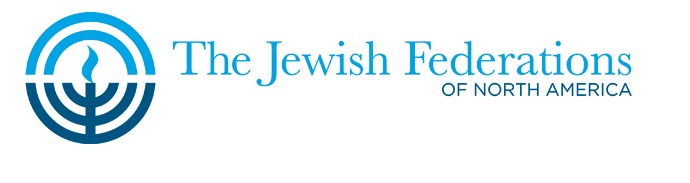 The Jewish Federations of North America logo. Credit: JFNA.