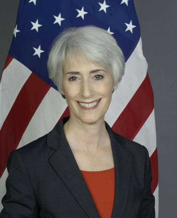U.S. State Department official Wendy Sherman (pictured) said that it would be helpful if the U.S. Senate held off on additional Iranian sanctions before scheduled Western talks with Iran on Oct. 15 in Geneva. Credit: State Department.