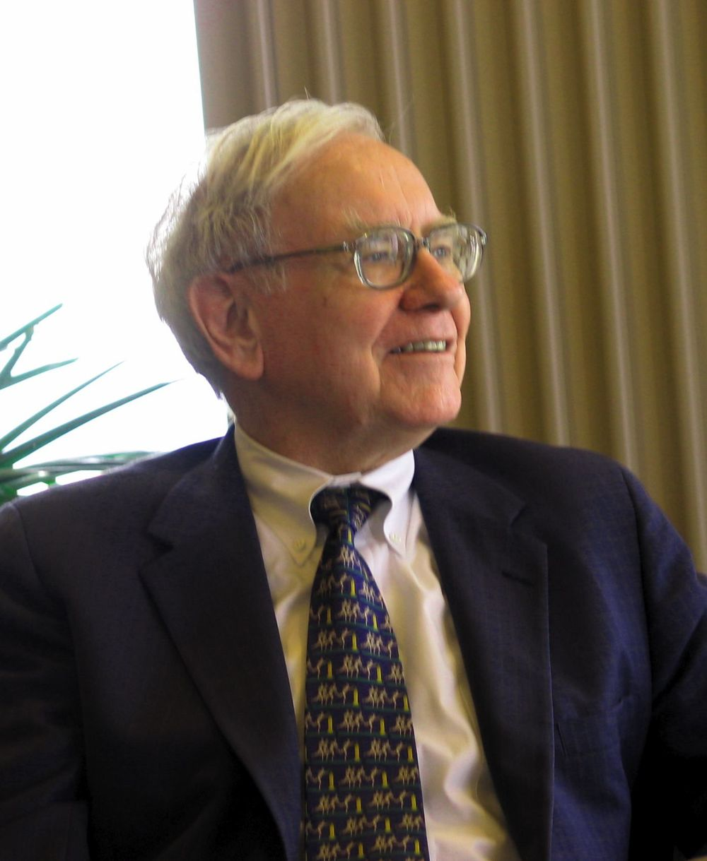 Warren Buffett. Credit: Wikimedia Commons.