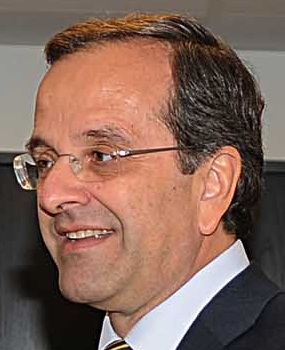 Greek Prime Minister Antonis Samaras. Credit: Wikimedia Commons.