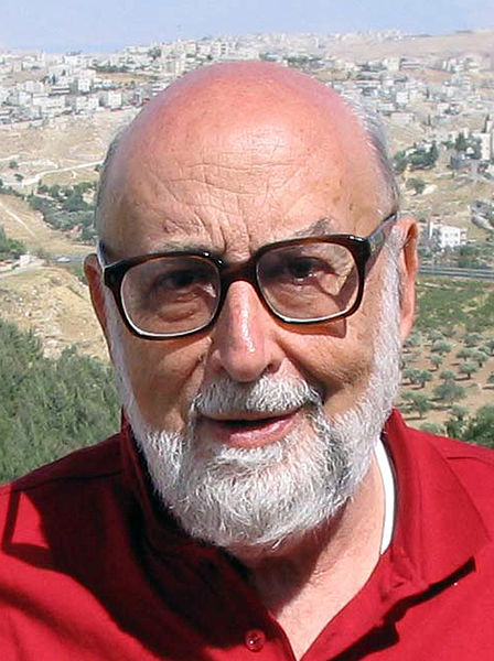 Belgian-Jewish physicist Francois Englert, pictured, will share the Nobel Prize in Physics with British physicist Peter Higgs. Credit: Wikimedia Commons.