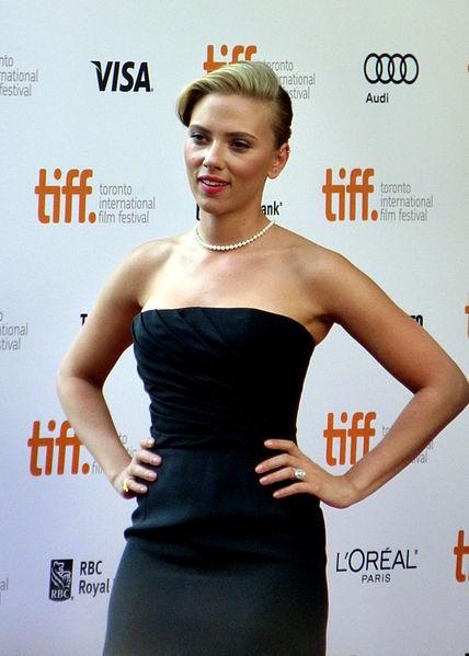 Jewish-American actress Scarlett Johansson. Credit: Wikimedia Commons.