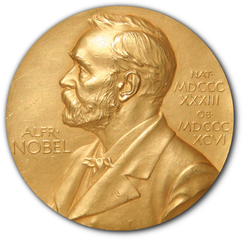 A Nobel Prize medal. Credit: Wikimedia Commons.