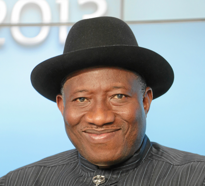 Nigerian President Goodluck Jonathan. Credit: World Economic Forum.