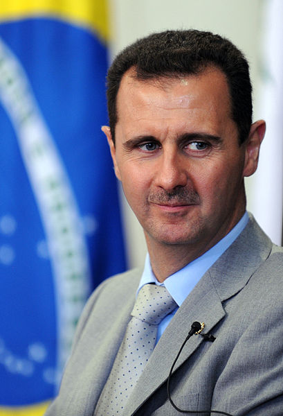 Syrian President Bashar Al Assad. Credit: Wikimedia Commons.