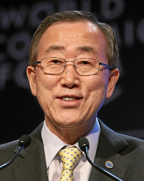 UN Secretary-General Ban Ki-moon warned against anti-Semitism in a speech Tuesday. Credit: Wikimedia Commons.